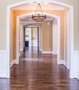 clear hallway